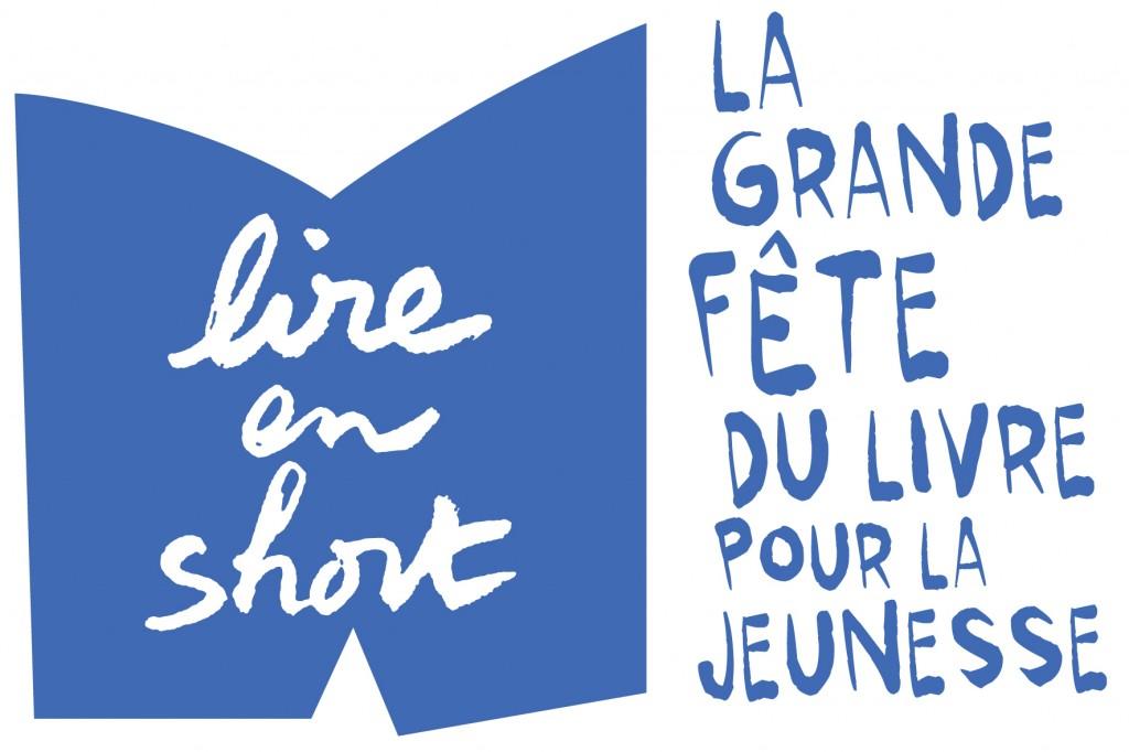 Logo Lire en short bleu